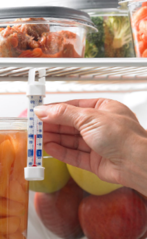 Refrigerator Thermometers – Cold Facts about Food Safety